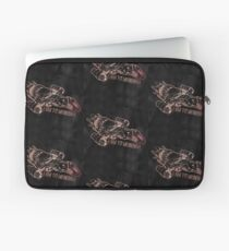 I Aim to Misbehave with Background Laptop Sleeve