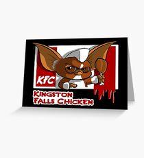 Kingston Falls Chicken Greeting Card