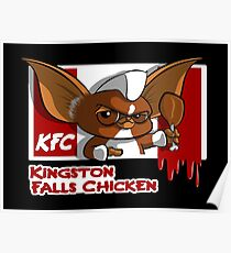 Kingston Falls Chicken Poster