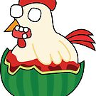 zombie watermelon chicken by shortstack