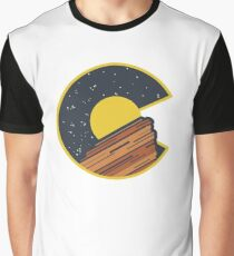 Red Rocks Colorado  Graphic T-Shirt