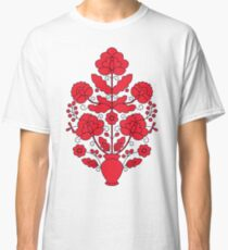Tree of Life - red and black Classic T-Shirt