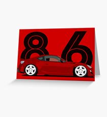 The 86 Greeting Card