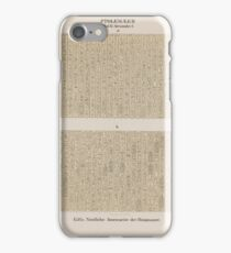 0647 Ptolemaeer Ptol XI Alexander I Edfu Idfû Nördliche Innenseite der Ringmauer iPhone Case/Skin