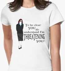 Blackwood - Threatening You Women's Fitted T-Shirt