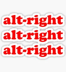 Alt Right Sticker