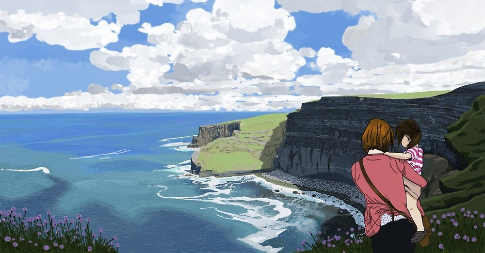 Cliffs of Moher by SEAN VECCHIONE