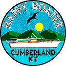 HAPPY BOATER LAKE CUMBERLAND KENTUCKY KY BOAT BOATING CAMPER by MyHandmadeSigns
