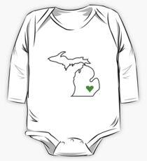 Michigan Love - Green  Kids Clothes