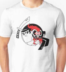 Samurai Jack and Aku Yin Yang  Unisex T-Shirt