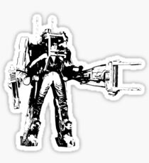 Ripley Power Loader B&W Sticker