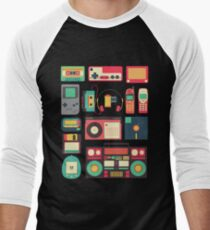 RETRO TECHNOLOGY 1.0 Men's Baseball ¾ T-Shirt