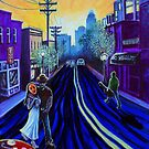 NoDa: Paintings of Charlotte's North Davidson Street Art District by Jerry Kirk