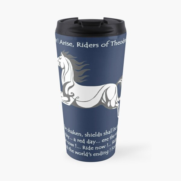 Ride Rohirrim! Travel Mug