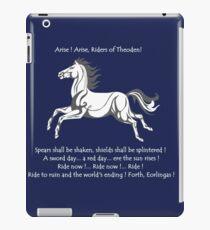 Ride Rohirrim ! iPad Case/Skin