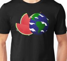 Watermelon Earth Unisex T-Shirt