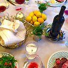 Dinner Table by Christine  Wilson