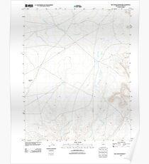 USGS TOPO Map Arizona AZ Blue Moon Reservoir 20111027 TM Poster