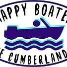 HAPPY BOATER LAKE CUMBERLAND KENTUCKY KY BOAT BOATING CAMPER EURO OVAL by MyHandmadeSigns