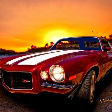 1971 Z28 Camaro HDR Vivid Remembrance! by ChasSinklier