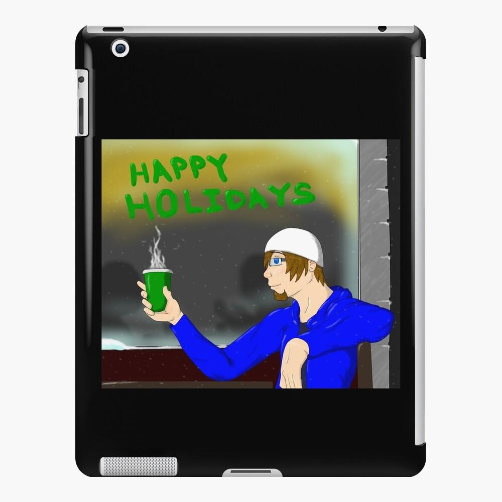 Happy Holidays iPad-Hülle & Skin