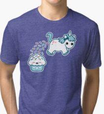 Sprinkle Poo Blue Tri-blend T-Shirt