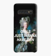 Funda/vinilo para Samsung Galaxy Las monarcas solo quieren divertirse