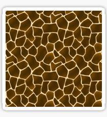 Wild Style Giraffe Print Safari Pattern Sticker