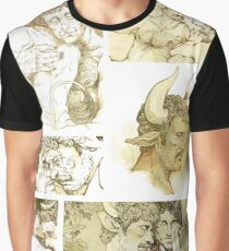The Satyr and the Bull Graphic T-Shirt
