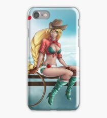 Pin-up MLP Applejack iPhone Case/Skin