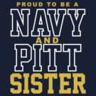 Proud Navy & Pitt Sister by Fitcharoo