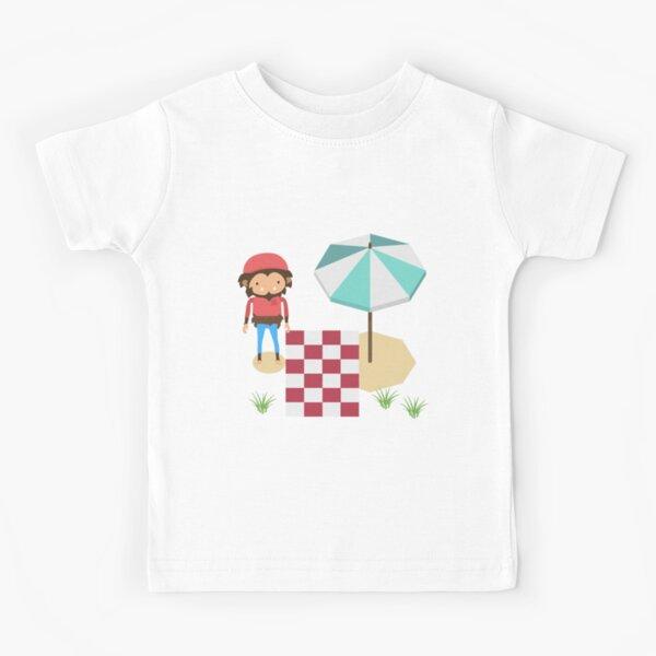 gaming gift Sneaky Sasquatch beachgoer Kids T-Shirt