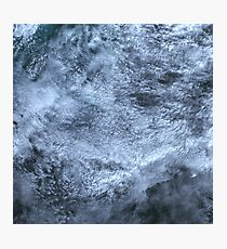 Clouds Over Turks and Caicos Islands Satellite Image Photographic Print