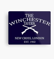 The Winchester Tavern - Shaun Of The Dead Metal Print