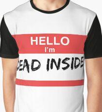 Camiseta gráfica Estoy muerto por dentro