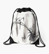 'after the rain' Original ink wash painting Drawstring Bag