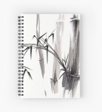 'after the rain' Original ink wash painting Spiral Notebook
