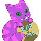 Eat Me ♥ Cheshire Cat by Minah-Solveigh