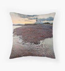 Chanonry Point Beach Throw Pillow