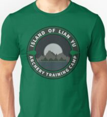 Island of Lian Yu - Archery Training Camp Unisex T-Shirt