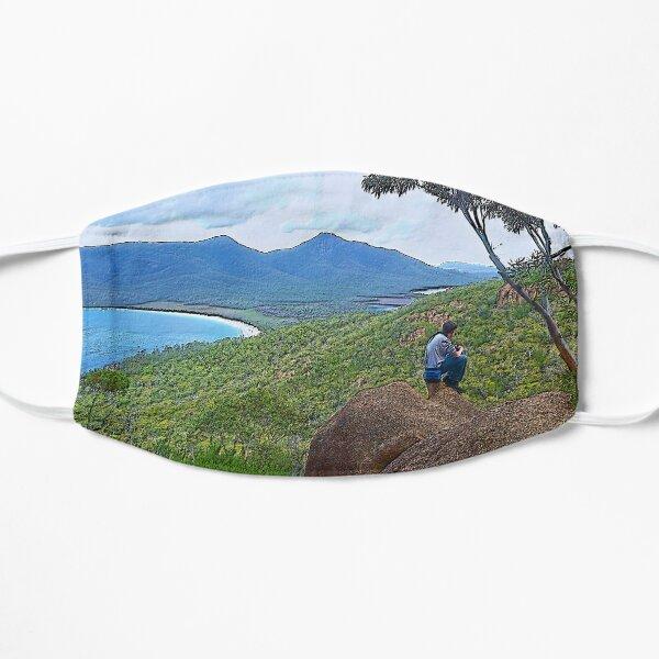 FREYCINET ~ SCENES ~ SCENERY ~ Tourist 2 by tasmanianartist Flat Mask