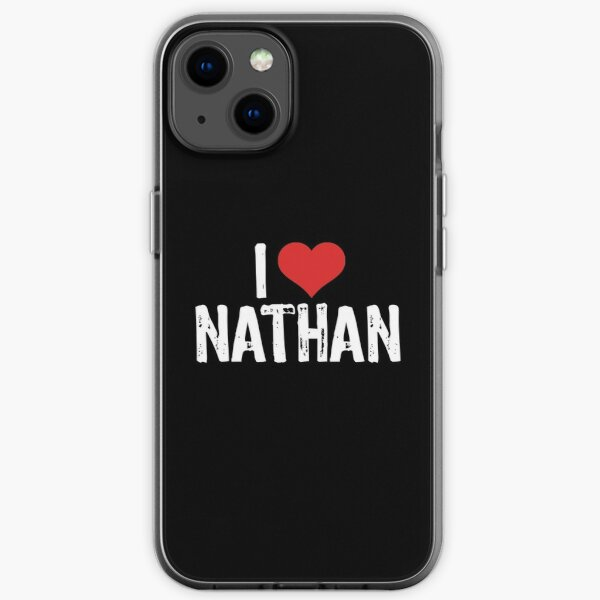 I Love Nathan iPhone Soft Case