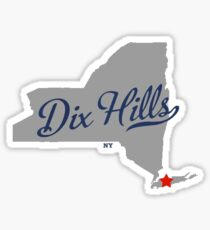 Dix Hills Long Island  Sticker