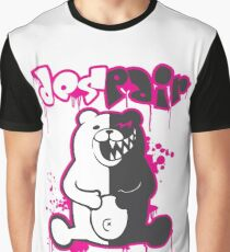 Danganronpa: Monokuma - Despair (Pink) Graphic T-Shirt