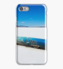 The Blue Flame at Bonneville iPhone Case/Skin