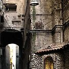 NAPLES SIDE STREET by Michael Carter