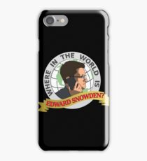 Where in the World is Edward Snowden? iPhone Case/Skin