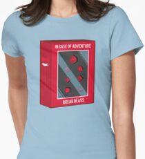 In Case of Adventure Break Glass - Red Dice T-Shirt