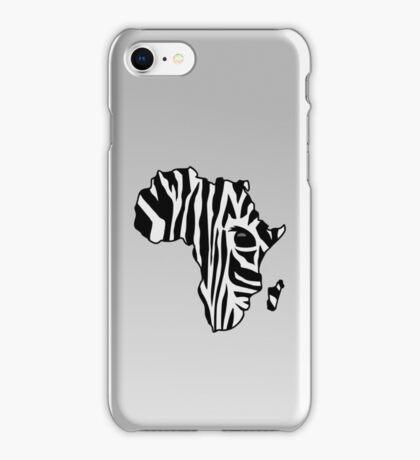 Zebra striped Africa VRS2 iPhone Case/Skin