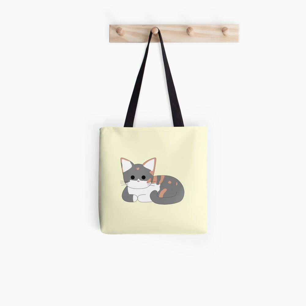 Clio Cat Loaf - Zitronengelb Tote Bag